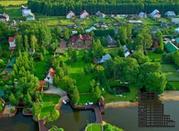 Дом - замок в английском стиле на берегу реки, 1-я линия, уч. 60 соток - Фото 3