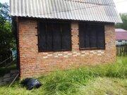 Земельный участок 9,7 сот с домиком 40кв.м, д.Аладьино, Каширский . - Фото 2