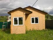 6 соток 45 км пгт Любучаны (дер. Шарапово) дом-баня 6х6 Чеховский - Фото 3