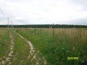 Эксклюзив. 60 км от МКАД. Продается участок 10 соток в д.Бортнево, ПМЖ - Фото 1