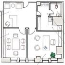 Офис 66,5 кв.м. вид на Храм Христа Спасителя, 2 мин. пеш. м.Боровицкая - Фото 4