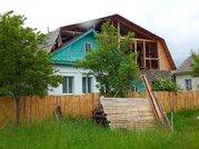Кирпичный двухкомнатный дом с г/о в г. Вичуга Ивановской области - Фото 1