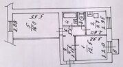 Продаю 2-х комнатную квартиру Люберцы, пос. вуги, цена 3500000 - Фото 1