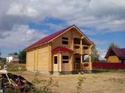 Суздальский р-он.д.Зелени.Новый дом из бревна 165м2. - Фото 3