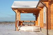 Новый красивый котедж в жилой деревне, 66 км отмкад - Фото 4