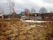 Участок 12 соток со срубом в п.Дорохово, Рузский район, 70 км. от МКАД - Фото 4