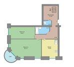 Хорошая 2х-комнатная квартира на Труфанова (86м2) - Фото 3