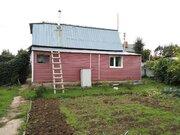 Дом в СНТ Кузнечики, обложен кирпичем на участке 6,5 соток - Фото 1