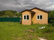 6 соток 45 км пгт Любучаны (дер. Шарапово) дом-баня 6х6 Чеховский - Фото 4