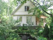Рогачево. Дом с баней на чудесном лесном участке. 70 км. Киевское, . - Фото 1