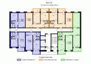 Новостройка, 1 комнатная квартира, п. Литвиново, 35 минут на машине - Фото 5