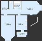 Продажа квартиры, Липецк, Ул. Бунина - Фото 1