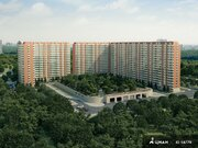 Аренда двухкомнатной квартиры 55 м.кв, Москва, Алексеевская м, .