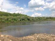 Просторный участок на берегу реки в месте полностью пригодном для пост - Фото 2