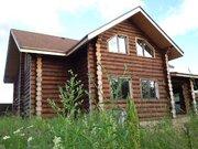 Новый качественный бревенчатый сруб 200 м2 в деревне Лешково - Фото 2