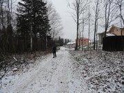Земельный участок в деревне Тефаново
