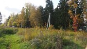 Участок 8-мь соток (ИЖС) д.Агафониха 23 км от МКАД у леса - Фото 2