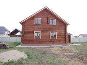 2 эт. 160 м, рубленный дом, рустик, жилой, д.Цибино. - Фото 2