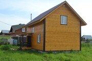 Дом ПМЖ, дер. Цибино 100 кв м на участке 6.6 соток 50 км от МКАД - Фото 2