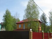Дом со всеми коммуникациями в окружение леса. деревня Воробьи. - Фото 5