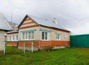 Добротный кирпичный дом с участком 73 сотки в с. Дубовое - Фото 1