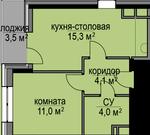 Продается Студия мкр Заветы Ильича ул Степана Разина д2 к3 - Фото 4