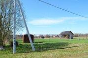 Участок с газом в деревне Калеево, есть баня. Свет подключен - Фото 2