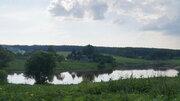 Участок на пруду 30,8 соток д. Петрово, г.Малоярославц - Фото 1