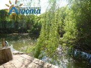 Участок с прудом в деревне Жуковского района Грачевка. - Фото 5