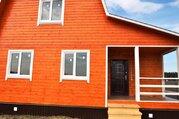 Новый теплый дом 85 кв.М. на участке 13 сот, д.финеево, ДНТ. - Фото 2