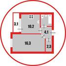 В продаже 1 комнатная квартира - Фото 1
