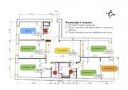 Продаётся видовая пятикомнатная квартира в доме бизнес-класса., Купить квартиру в Москве по недорогой цене, ID объекта - 317130164 - Фото 12