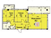 2 комн. квартира в новом доме на пер.Восточный (ЖК Лазурит) - Фото 2