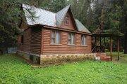 Продается жилой зимний дом граничащий с лесом д. Писково - Фото 1
