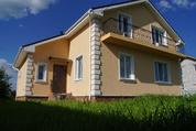 Жилой дом с газом, 180м.кв, черта города Чехов, коттеджная застройка. - Фото 1