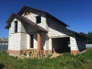 Дом 200 м2 в коттеджном пос.д.Тимково Ногинского р-на, 45 км.отмкад - Фото 1