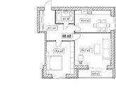 Продам 2-комнатную квартиру, 68м2, ЖК Прованс, фрунзенский р-н - Фото 5
