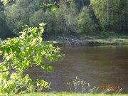 Участок 40 соток, 1-линия реки Сясь. - Фото 1