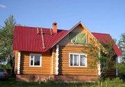 Дом рубленный 150м2, баня 6*6, участок 63 сотки в д. Бородухино - Фото 1
