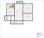 Купить квартиру с ремонтом в монолитном доме., Купить квартиру в Новороссийске по недорогой цене, ID объекта - 322885416 - Фото 3