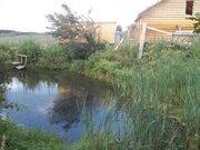 16 соток с собственным прудом в деревне Бобры Можайского района - Фото 1
