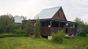 Продается дача в лесу рядом с большим озером, Ступинский район - Фото 1