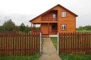 Новый дом 130 м2, 15 соток, газ, д. Володино - Фото 1