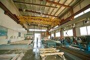 Сдается производственное помещение площадью 950м2 кран-балки 10т.