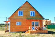 Дом с верандой на 12 сотках, 76 км от МКАД п.Першино - Фото 1