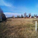 Участок 6 соток в д. Соболево, 54 км от МКАД, ПМЖ, река, лес - Фото 1