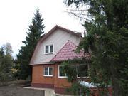 Дом 180 кв.м. с газом, Москва. Лесной участок 8 сот. 20 км. от МКАД.