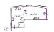 Офисное помещение 30 кв.м. в БЦ класса B+ на 1-м Тружениковом . - Фото 5