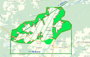7 250 га, из них 2750 га леса (мин. 500 000 куб.м.) в собствен. - Фото 2