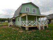 2х этажный дом 125м2, брус, 7 соток, кп Тишнево, Боровск - Фото 1
